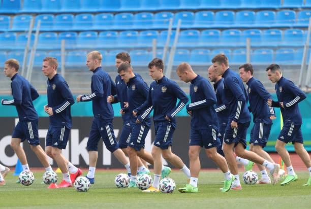RUS: European Championship Group B - Training Of The Russian National Team
