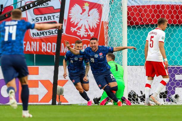 RUS: European Football Championship - Poland - Slovakia