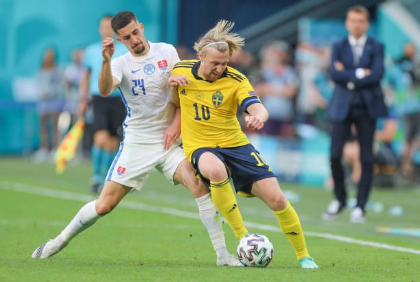 RUS: European Football Championship - Sweden - Slovakia