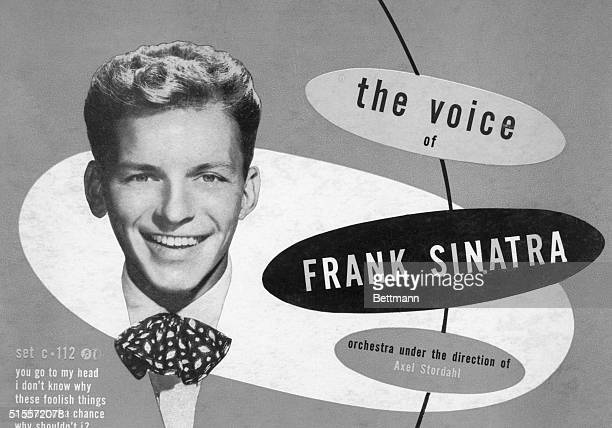June 22 1971New York This 78 rpm album released in mid1948 gives us the Voice of Frank Sinatra and offers an idea of what the young Sinatra looked...