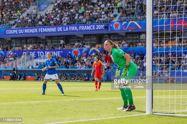 June 25 Goalkeeper Laura Giuliani of Italy in action during the Italy V China round of sixteen match at the FIFA Women's World Cup at Stade De La...