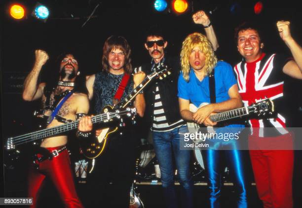 Spinal Tap the band formed for the film This Is Spinal Tap plays a rare live performance on June 25 1984 at Wolfgang's in San Francisco California