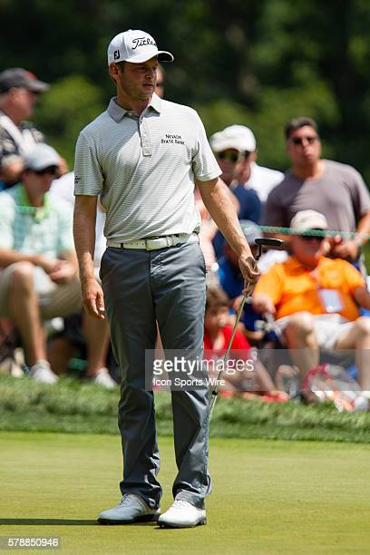 John Merrick on 9 during the second round of the Quicken Loans National at Congressional Country Club in Bethesda MD