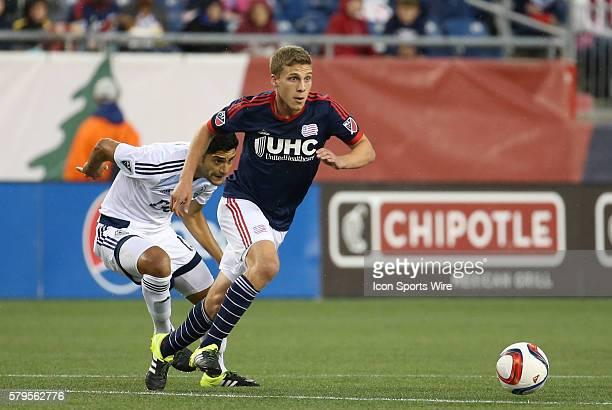 New England Revolution midfielder Scott Caldwell eludes Vancouver Whitecaps midfielder Matias Laba The Vancouver Whitecaps defeated the New England...