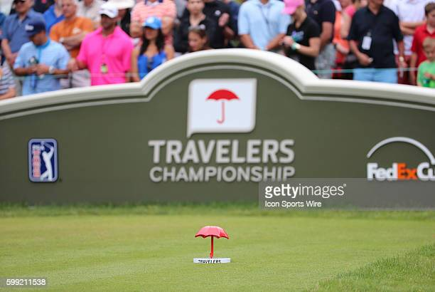 The third round begins at the Traveler's Championship at TPC River Highlands in Cromwell Connecticut