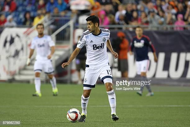 Vancouver Whitecaps midfielder Matias Laba The Vancouver Whitecaps defeated the New England Revolution 21 in a regular season MLS match at Gillette...