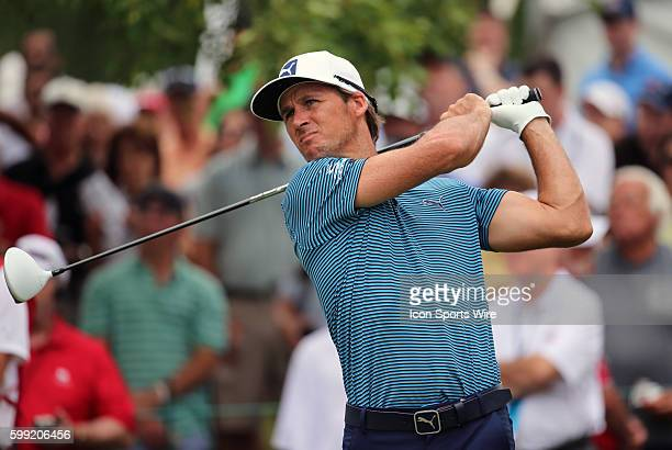 Will MacKenzie hits from the 1st tee during the third round of the Traveler's Championship at TPC River Highlands in Cromwell Connecticut