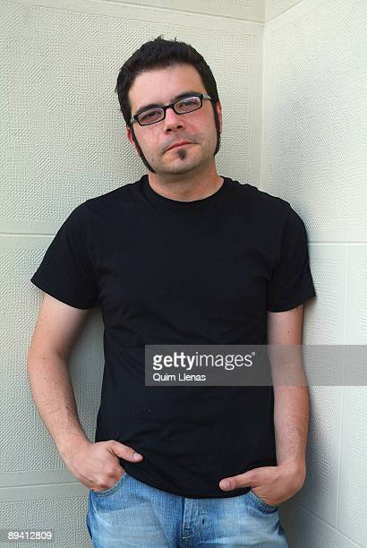 June 28 2007 Circulo de Bellas Artes Madrid Spain Portrait of the writter Luis Manuel Ruiz because of the publication of his novel The eye of the...