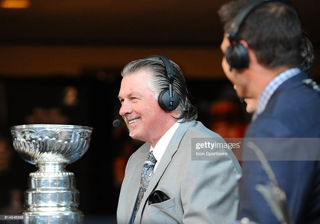 Analyst and NHL Network contributor Barry Melrose during