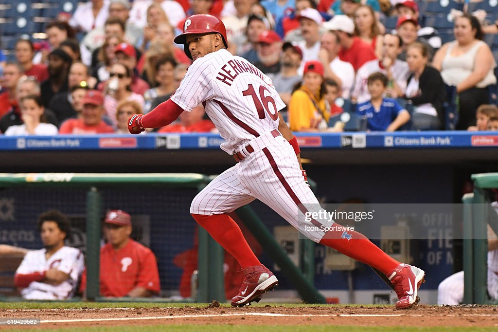 MLB: JUN 03 Brewers at Phillies : News Photo