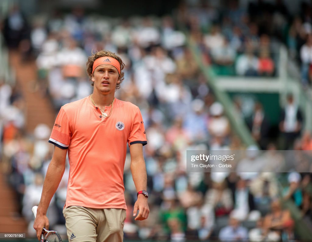 2018 French Open Tennis Tournament. Roland Garros. : Fotografía de noticias