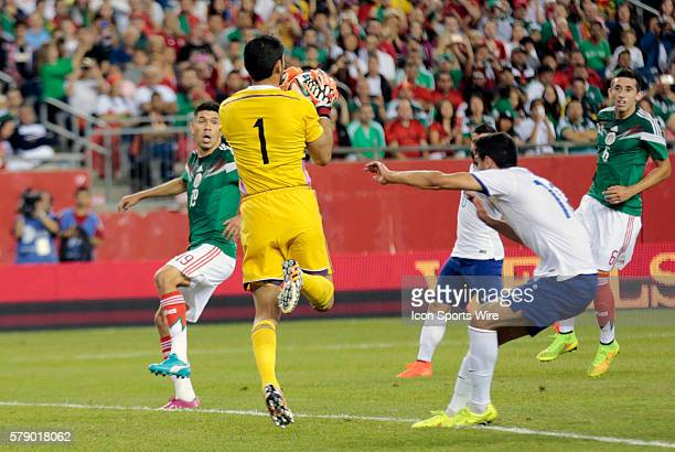 Mexico's Jesus Corona cuts out a cross The men's national team of Portugal defeated the men's national team of Mexico 10 in a final international...