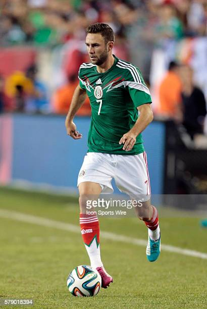 Mexico's Miguel Layun The men's national team of Portugal defeated the men's national team of Mexico 10 in a final international friendly before the...
