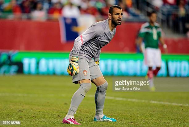 Portugal's Eduardo The men's national team of Portugal defeated the men's national team of Mexico 10 in a final international friendly before the...