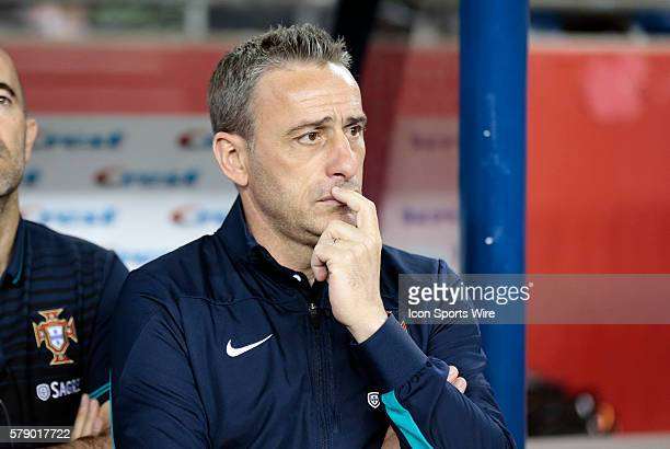 Portugal's Head Coach Paulo Bento The men's national team of Portugal defeated the men's national team of Mexico 10 in a final international friendly...