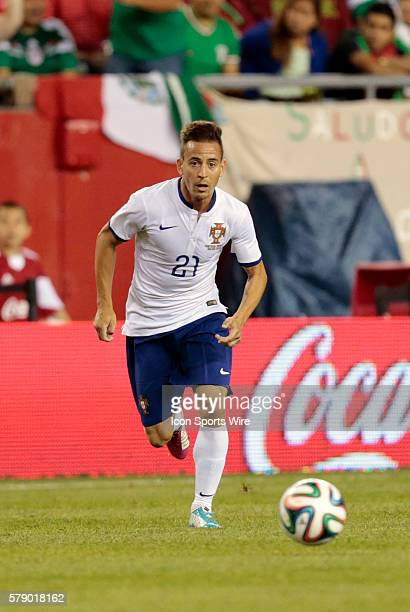Portugal's Joao Pereira The men's national team of Portugal defeated the men's national team of Mexico 10 in a final international friendly before...