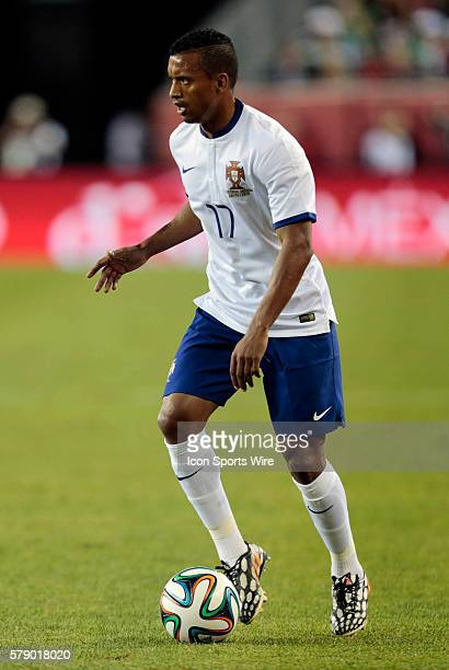 Portugal's Nani The men's national team of Portugal defeated the men's national team of Mexico 10 in a final international friendly before the 2014...