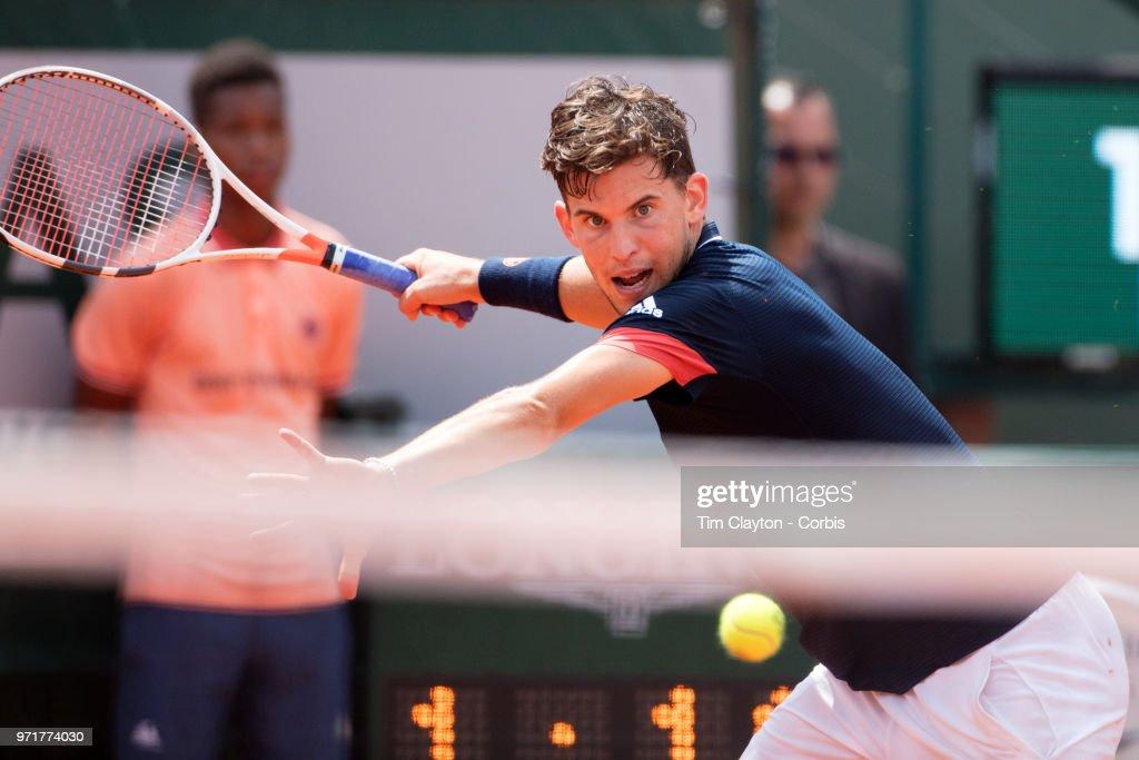 2018 French Open Tennis Tournament. Roland Garros. : ニュース写真