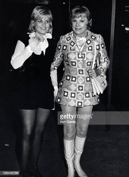 June Allyson and daughter during June Allyson Sighting in New York City June 22 1971 at Hippopotamus Club in New York City New York United States