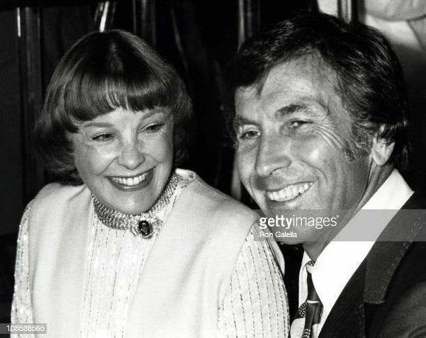 June Allyson and guest during 1978 Eddie Awards at Ambassador Hotel in Los Angeles, California, United States.