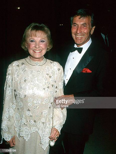 June Allyson and guest during Bob Hope Center Awards in Palm Springs California United States