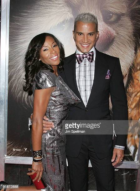 June Ambers and Jay Manuel attend the Where the Wild Things Are premiere at Alice Tully Hall Lincoln Center on October 13 2009 in New York City