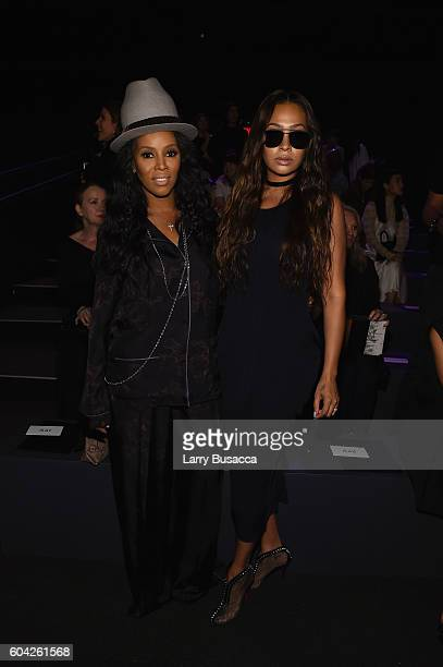 943dbccec5ab June Ambrose and La La Anthony attend the Vera Wang Collection fashion show  during New York