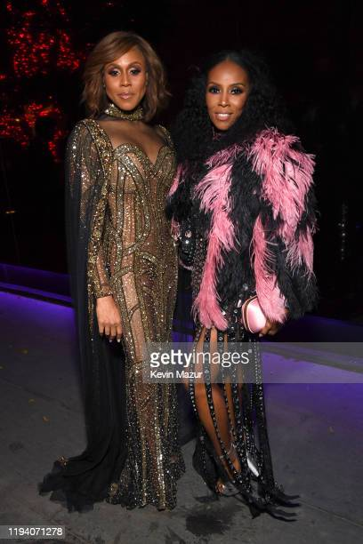 June Ambrose attends Sean Combs 50th Birthday Bash presented by Ciroc Vodka on December 14 2019 in Los Angeles California