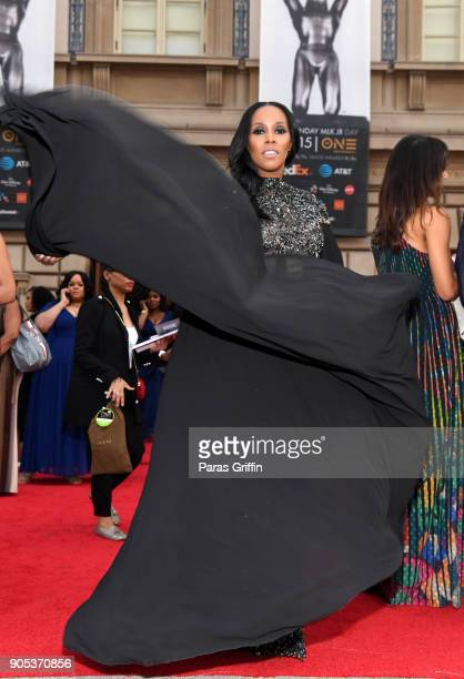 June Ambrose attends the 49th NAACP Image Awards at Pasadena Civic Auditorium on January 15 2018 in Pasadena California