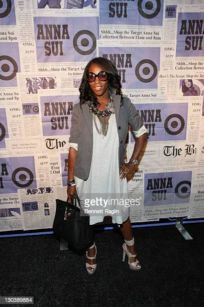 13004f23fb11 June Ambrose attends the Anna Sui for Target popup store launch party at  Anna Sui for