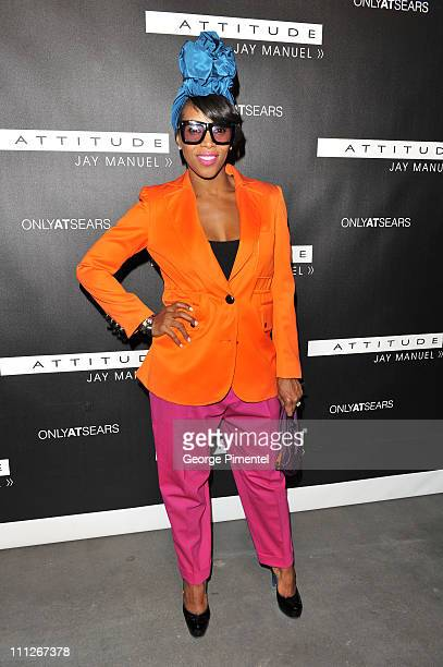 386d1d7bb4e7 June Ambrose attends the Attitude by Jay Manuel After Party at the Heritage  Court Exhibition Place