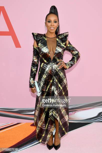 June Ambrose attends the CFDA Fashion Awards at the Brooklyn Museum of Art on June 03 2019 in New York City