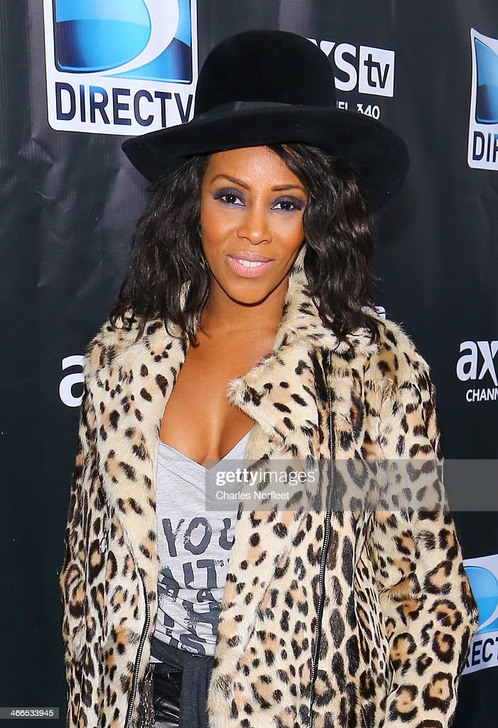 June Ambrose attends the DirecTV Super Saturday Night at Pier 40 on February 1, 2014 in New York City.