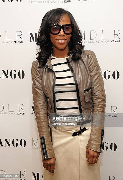5fa92709654d June Ambrose attends the MANGO Collection launch event at Crosby Street  Hotel on March 24 2010