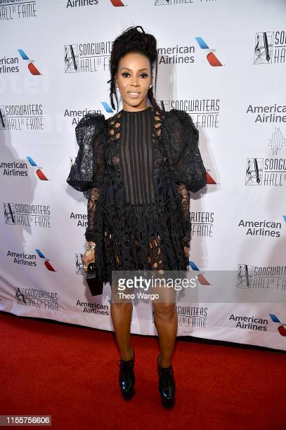 June Ambrose attends the Songwriters Hall Of Fame 50th Annual Induction And Awards Dinner at The New York Marriott Marquis on June 13 2019 in New...