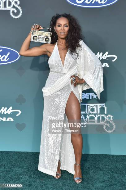 June Ambrose attends the Soul Train Music Awards on November 17 2019 in Las Vegas Nevada