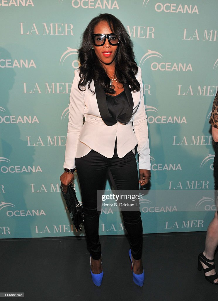 June Ambrose attends World Ocean Day 2011 celebrated by La Mer and Oceana at Affirmation Arts on May 18, 2011 in New York City.