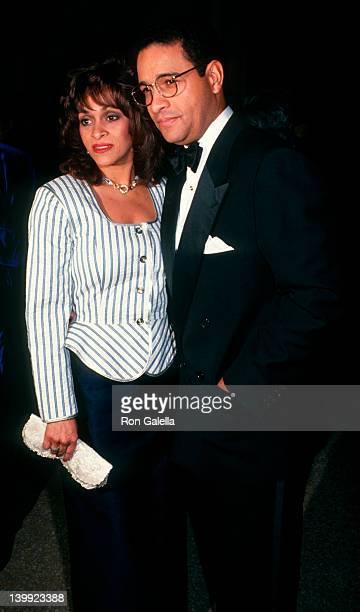 June Baranco and Bryant Gumbel at the 10th Annual CFDA Awards Metropolitan Museum of Art New York City