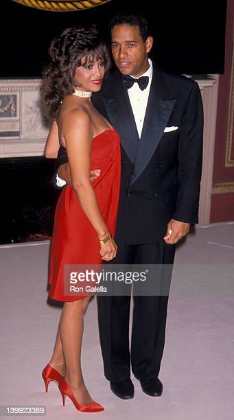 June Baranco and Bryant Gumbel at the New York Friars Club Tribute to Diana Ross Waldorf Astoria Hotel New York City