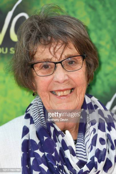 June Bernicoff attends the Cirque Du Soleil's OVO Premiere at The Liverpool Echo Arena on August 16 2018 in Liverpool England