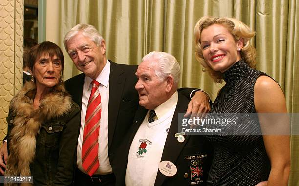 June Brown Michael Parkinson Arthur Keily and Nell McAndrew