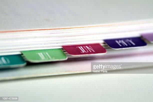 June. Calendar Folders
