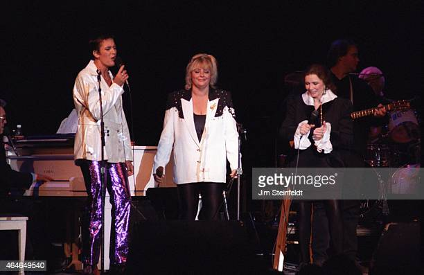 June Carter Cash performs at the Greek Theatre in Los Angeles, California on June 14, 1997.