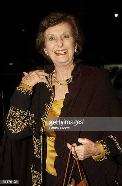 June DallyWatkins at a gala dinner event to celebrate the 70th Anniversary of Australian magazine icon 'The Australian Women's Weekly' An array of...