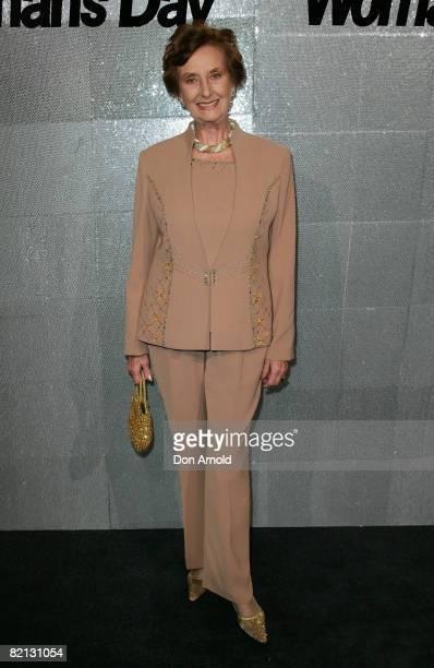 June DallyWatkins attends the Women's Day 60th Anniversary Celebrations at the Glass Brasserie on July 31 2008 in Sydney Australia