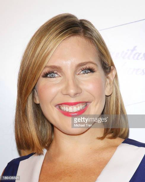 June Diane Raphael arrives at the Los Angeles premiere of Ass Backwards held at the Vista Theatre on October 30 2013 in Los Angeles California