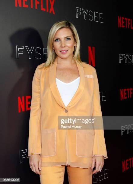 June Diane Raphael attends Comediennes In Conversation at Netflix FYSEE at Raleigh Studios on May 29 2018 in Los Angeles California