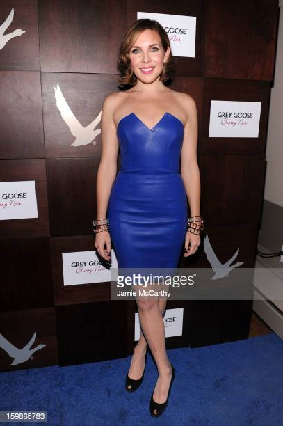 June Diane Raphael attends Grey Goose Blue Door 'Ass Backwards' Party on January 21 2013 in Park City Utah