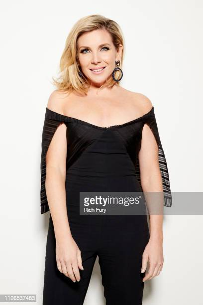 June Diane Raphael attends the 21st Costume Designers Guild Awards x Getty Images Portrait Studio presented by LG V40 ThinQ on February 19 2019 in...