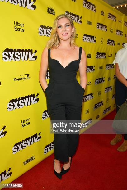 "June Diane Raphael attends the ""Long Shot"" Premiere - 2019 SXSW Conference and Festivals at Paramount Theatre on March 09, 2019 in Austin, Texas."